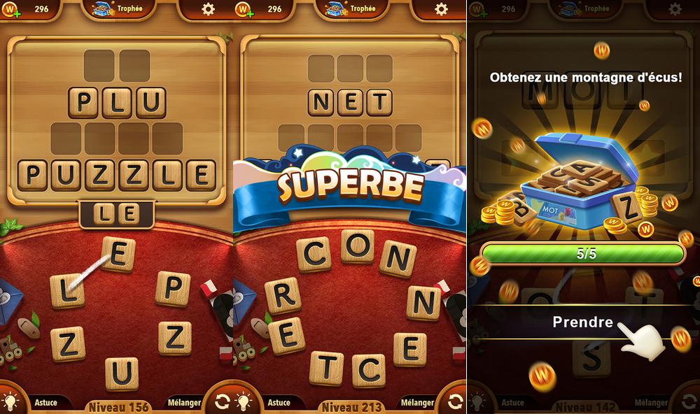 Les Meilleurs Jeux Gratuits Pour Android encequiconcerne Jeux De Lettres Gratuits