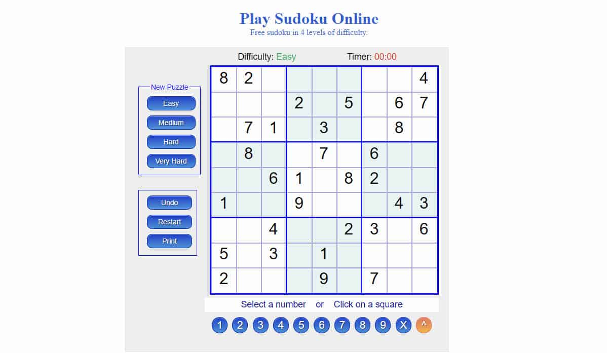 Les Meilleurs Sites Pour Jouer Au Sudoku En Ligne En 2020 à Jeu Sudoku En Ligne
