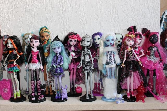 Les Monster High De Bbelo encequiconcerne Les Plus Belle Monster High Du Monde