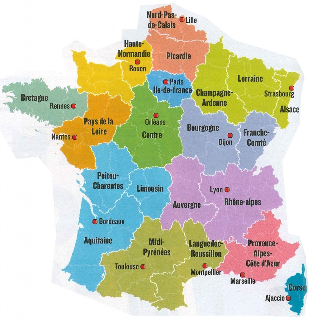 Les Nouvelles Grandes Régions : Une Ineptie Totale (Plus encequiconcerne Nouvelle Region France