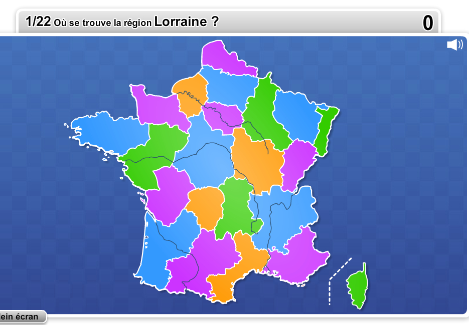 Les Régions De France | Jeux Quizz, Jeux De Connaissance serapportantà Quiz Régions De France