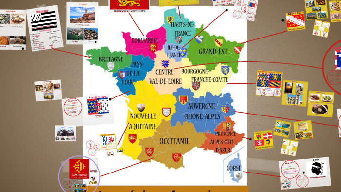 Les Régions Françaises 2017-18 (1ºr - 1ºs) By Raquel Fc tout Liste Des Régions Françaises