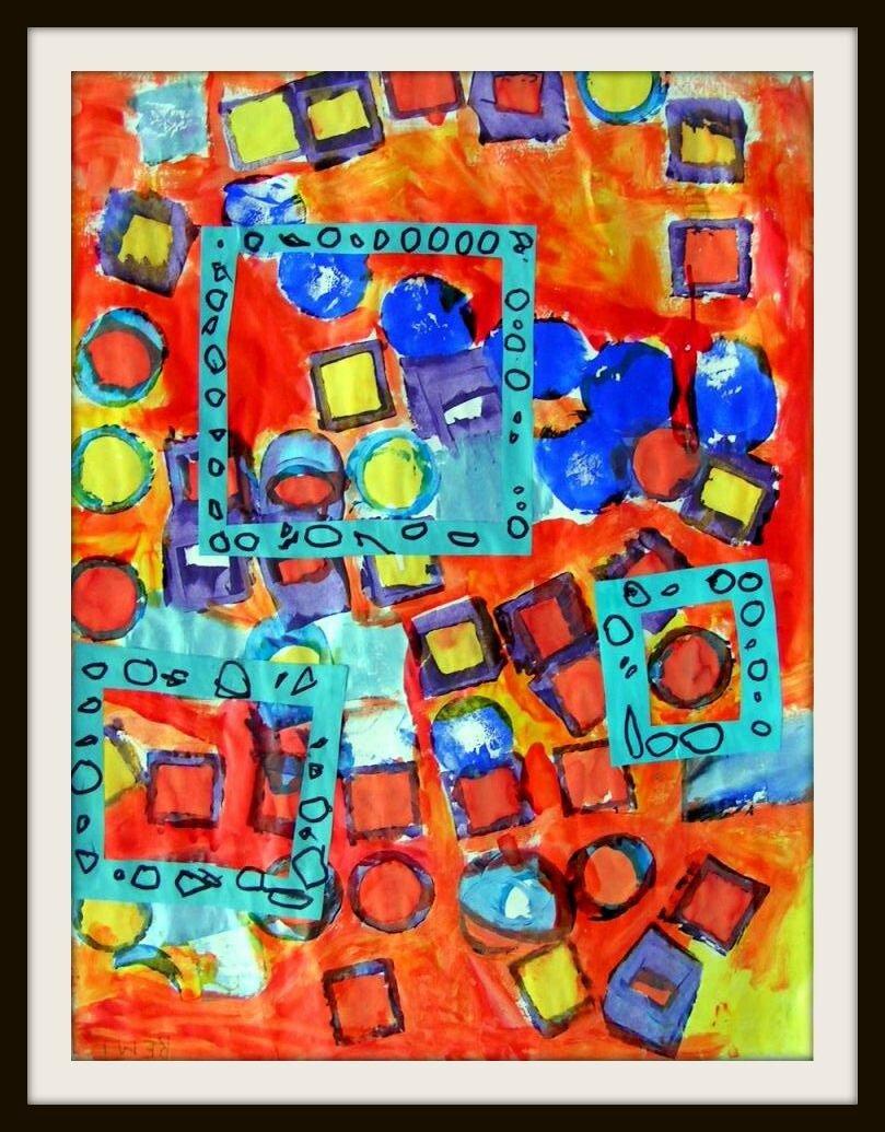 Les Trois Fenêtres - Le Tour De Mes Idées destiné Peinture Ms