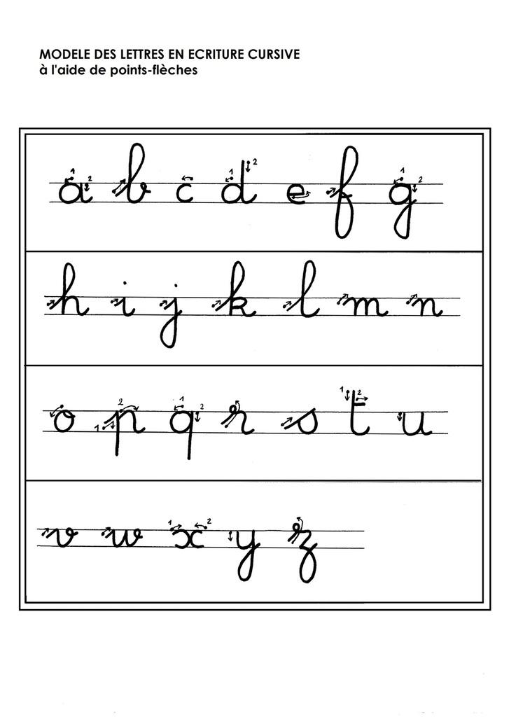 Lettre Maternelle - Modele De Lettre Type intérieur Apprendre À Écrire Les Lettres Maternelle