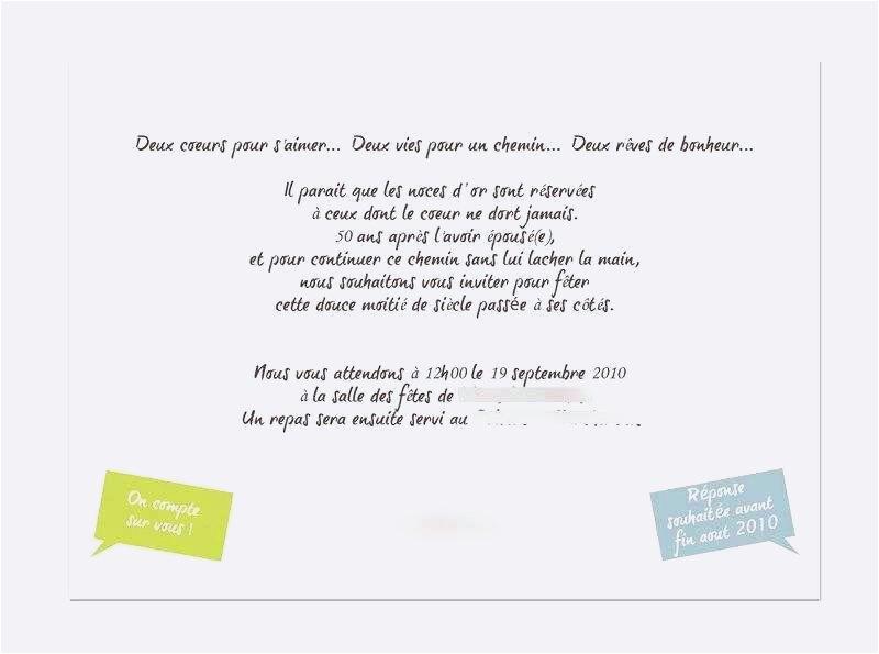 Lettre Type Pour Anniversaire 50 Ans - Les Lettres Types intérieur Texte Pour Invitation 50 Ans De Mariage