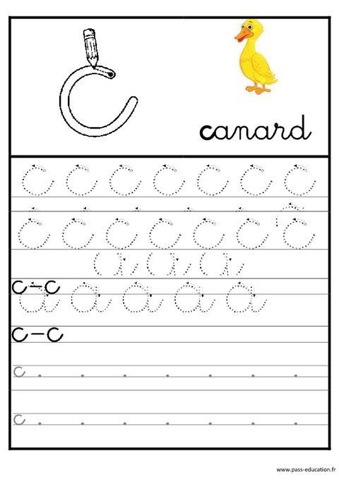 Lettres De L'Alphabet En Cursive - Ecriture - Maternelle intérieur Exercice Pour Apprendre L Alphabet En Maternelle