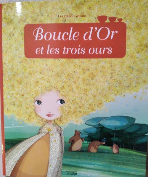 L'Histoire De Boucle D'Or Et Les Trois Ours - Tps / Ps destiné Histoire De Boucle D Or
