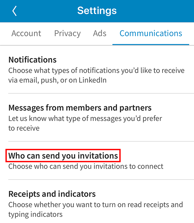 Linkedin: Here'S How To Control Who Can Send You intérieur Invitation Linkedin Message