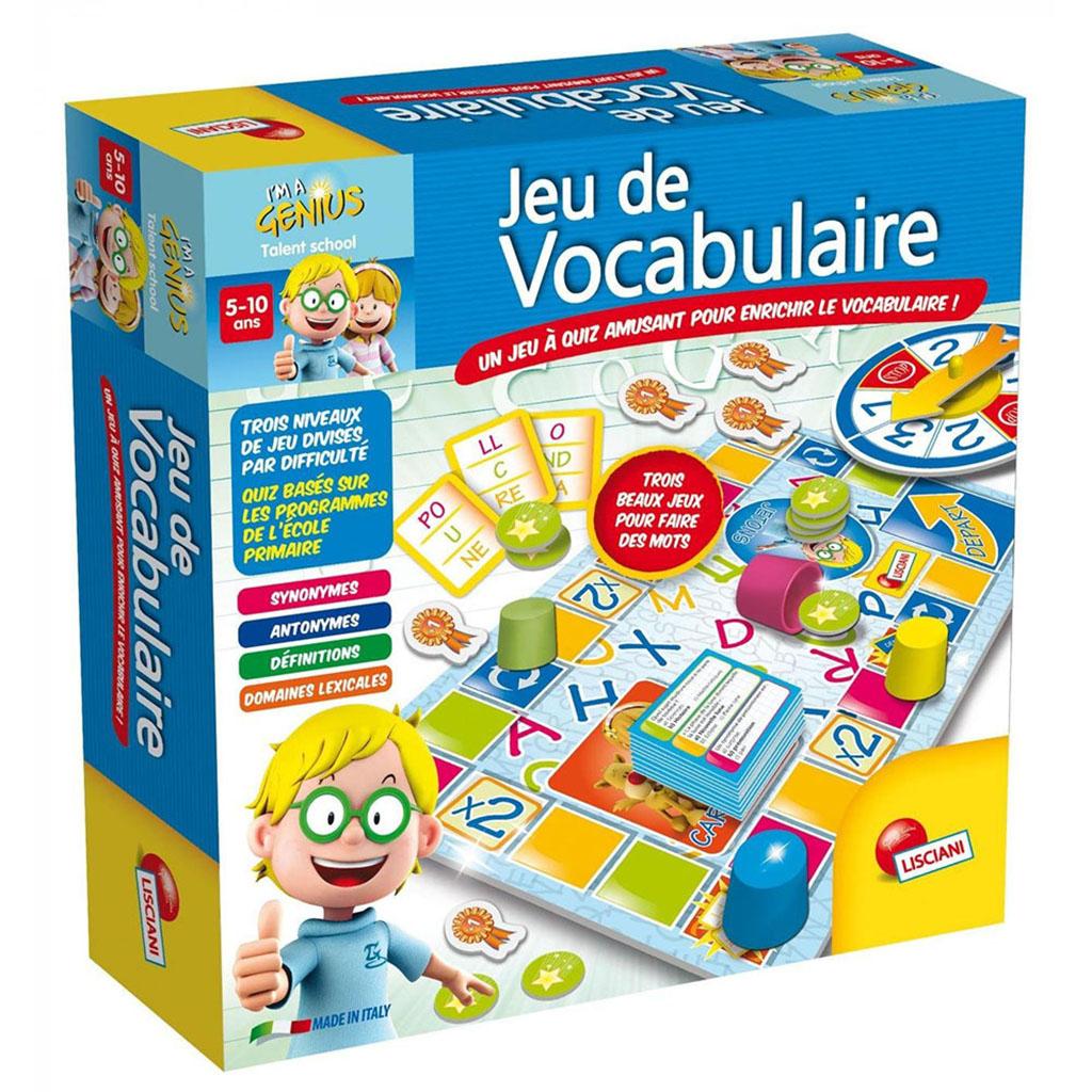 Lisciani - I'M A Genius - Jeu De Vocabulaire Concernant destiné Jeux Enfant De 5 Ans