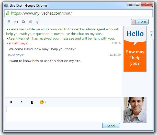 Live Chat Software à Livre Chhht