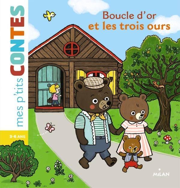 Livre: Boucle D'Or, Agnès Cathala, Editions Milan, Mes P concernant Histoire De Boucle D Or