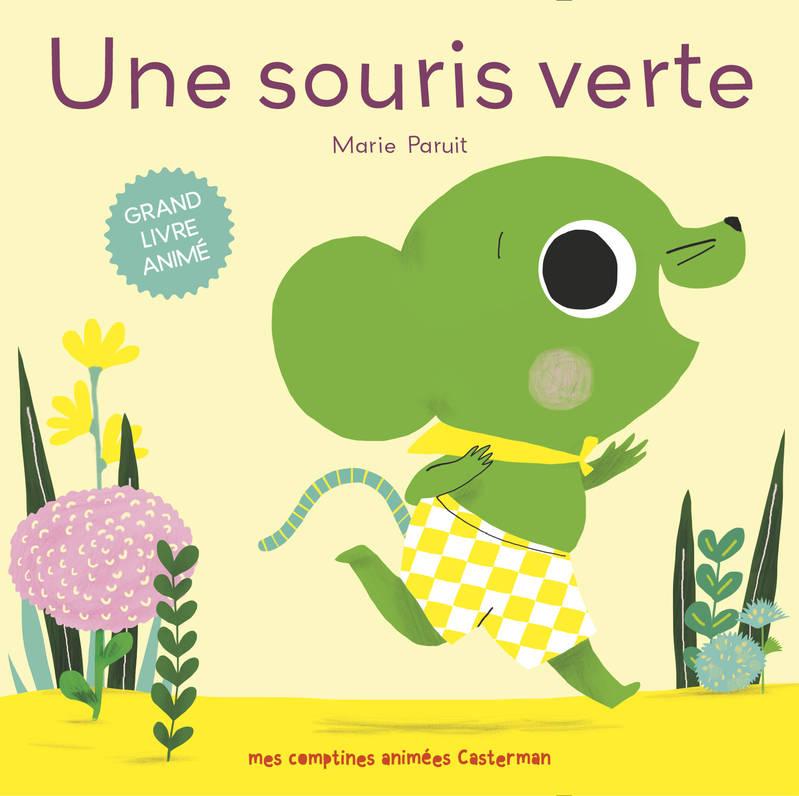 Livre: Une Souris Verte, Paruit, Casterman, Livres avec Video Une Souris Verte