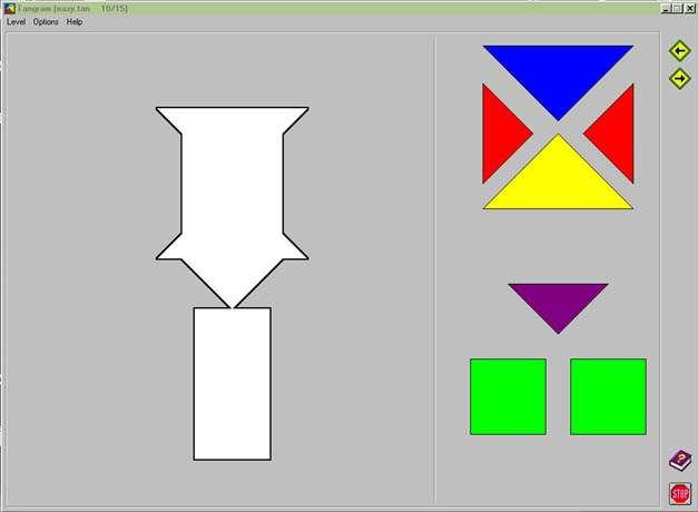 Logiciel: Tangram - Outils Numériques Et Handicap (Mais avec Tangram En Ligne