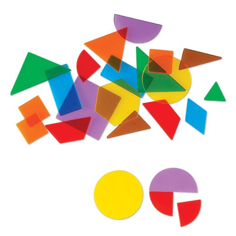 Lot 408 Formes Géométriques Transparentes Montessori S destiné Les Formes Geometrique