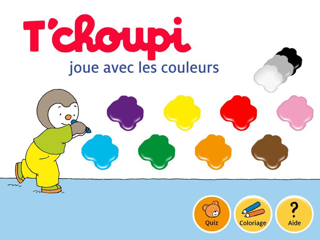 Ludo Éducatif : T'Choupi Joue Avec Les Couleurs - Paperblog intérieur Jeux Ludo Educatif
