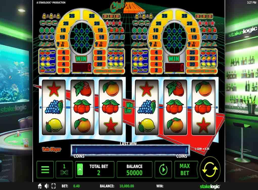 Machine À Sous Club 2000 Deluxe De Stakelogic - Jeux concernant Jeux De Catastrophe Naturel Gratuit