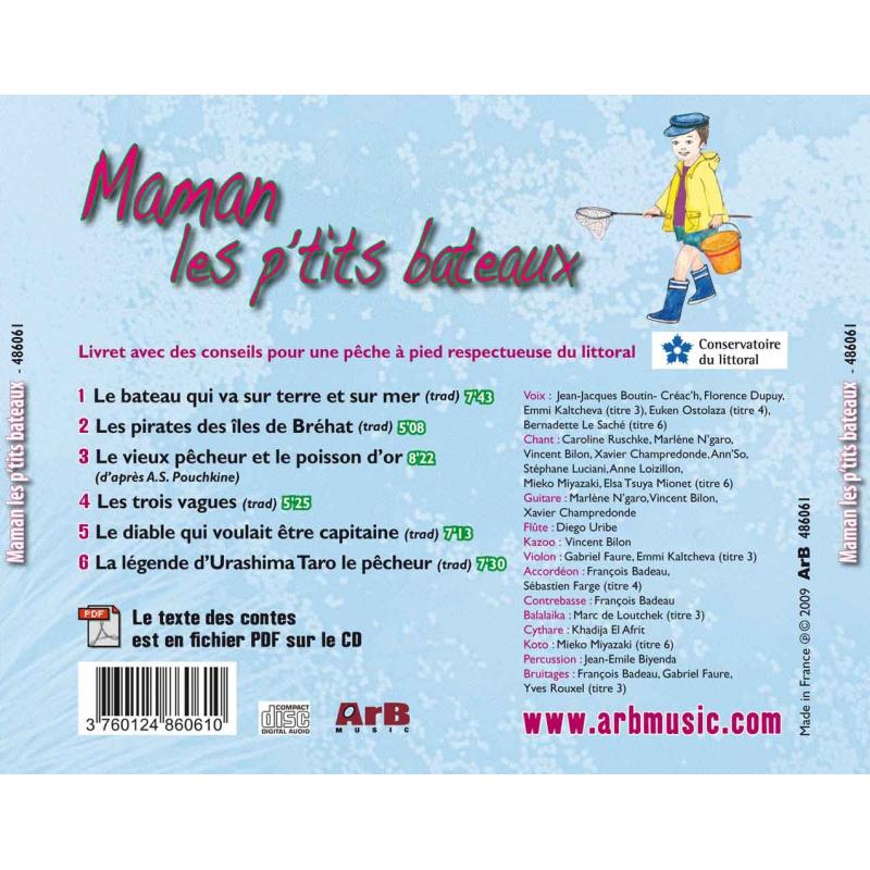 Maman Les P'Tits Bateaux - Arb Music destiné Parole Maman Les Petit Bateau