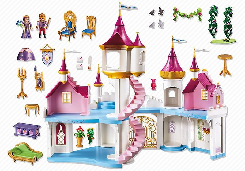 Manoir Princesse Playmobil - Chateau U Montellier destiné Image De Chateau De Princesse