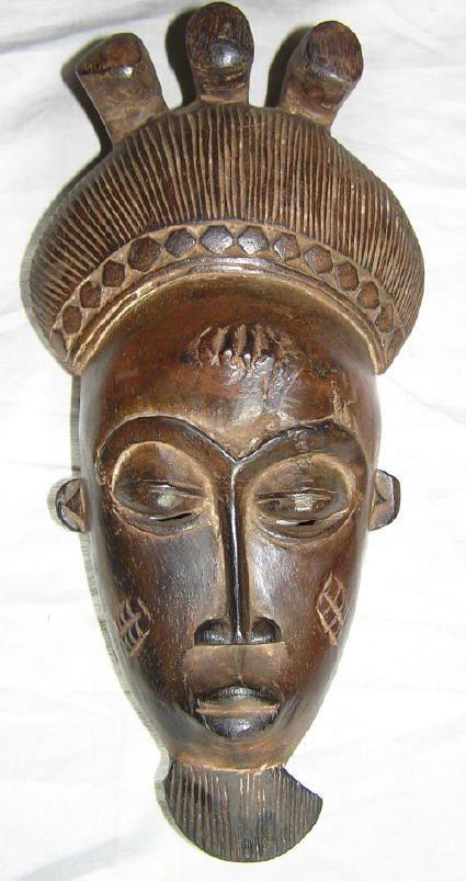 Masque Baoule Http://Www.art-Africain/Masque_Africain pour Masques Africains À Fabriquer