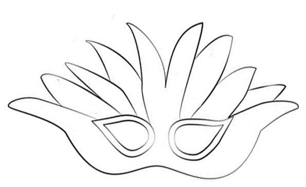 Masque De Carnaval A Imprimer - Votre Image Id-1 Sur serapportantà Masque Carnaval Maternelle À Imprimer