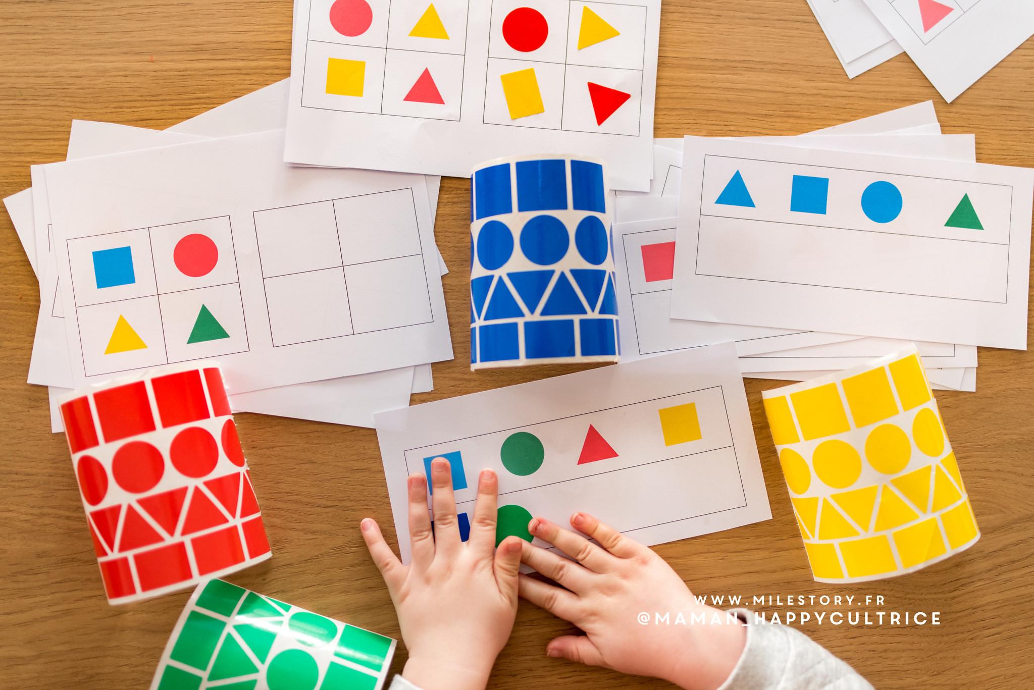 Maternelle : Activités Pour Apprendre Les Formes destiné Les Formes Geometrique
