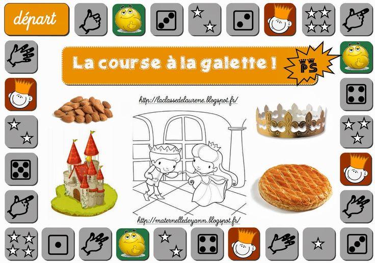 Maternelle Et Direction De Yann: La Course À La Galette encequiconcerne La Galette Des Rois Maternelle