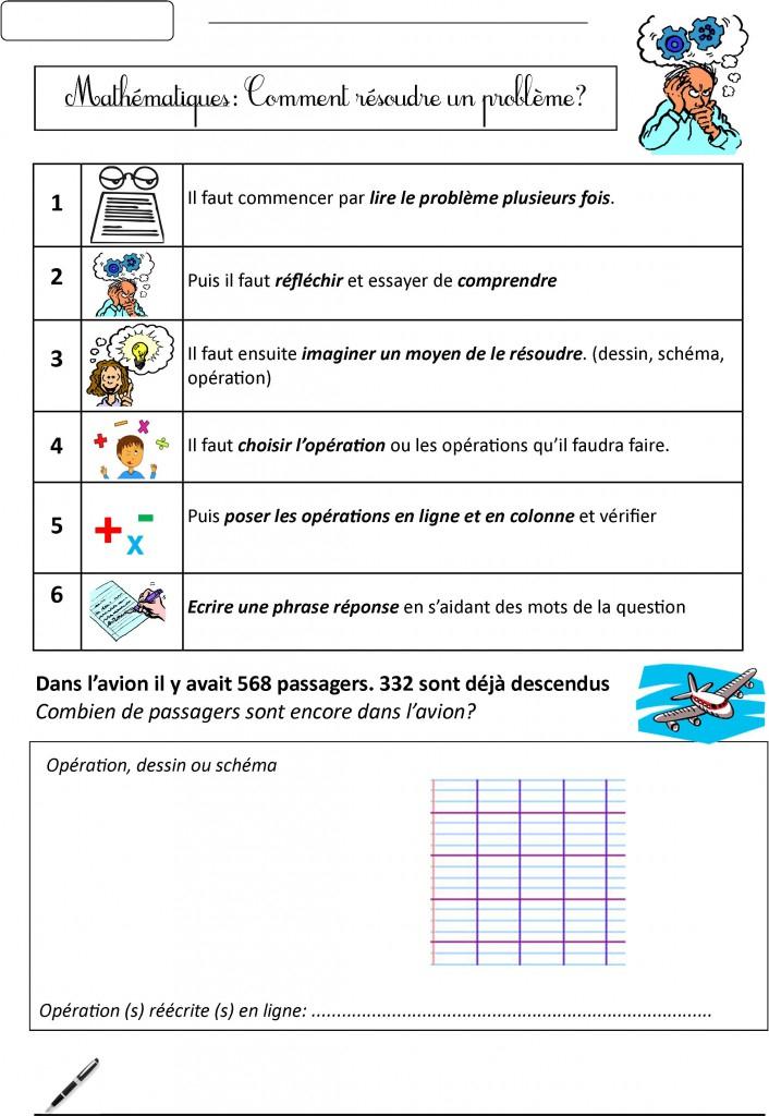 Mathématiques Ce1   Le Blog De Monsieur Mathieu à Exercice Ce1 A Imprimer