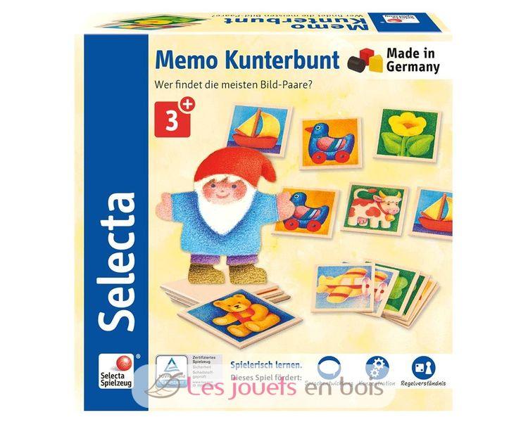 Mémo Multicoloré - Selecta 63017 - Jeu Mémory - Jeu avec Jeux De Mimoire