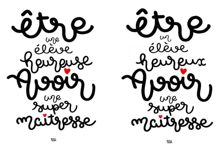 Merci Maîtresse, Maître, Atsem, Nounou : Les Cartes De destiné Coloriage Pour La Maitresse