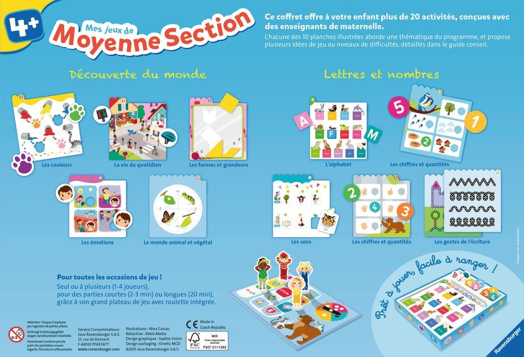 Mes Jeux En Moyenne Section K661776 - Frimaudeau tout Jeux Educatif Grande Section