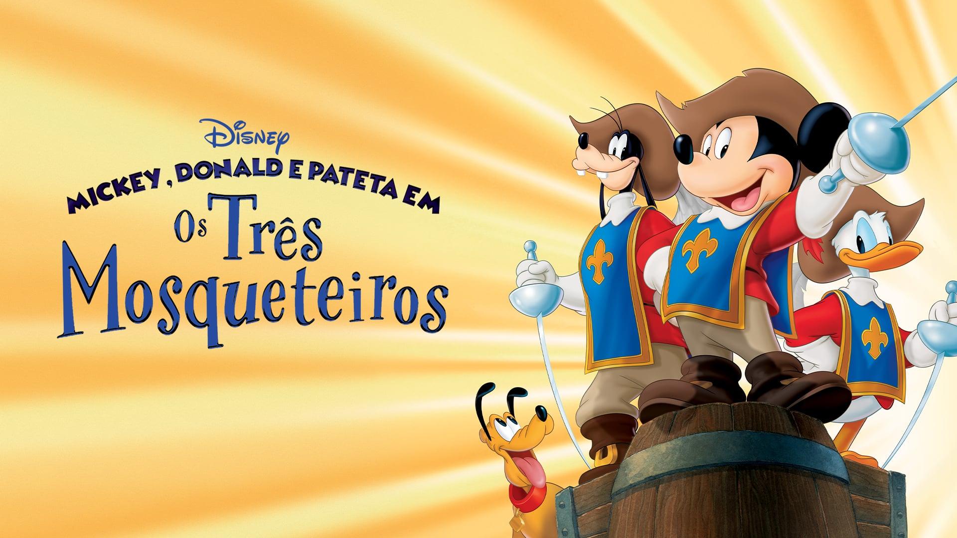 Mickey, Donald, Dingo: Les Trois Mousquetaires En à Mickey Mousquetaire