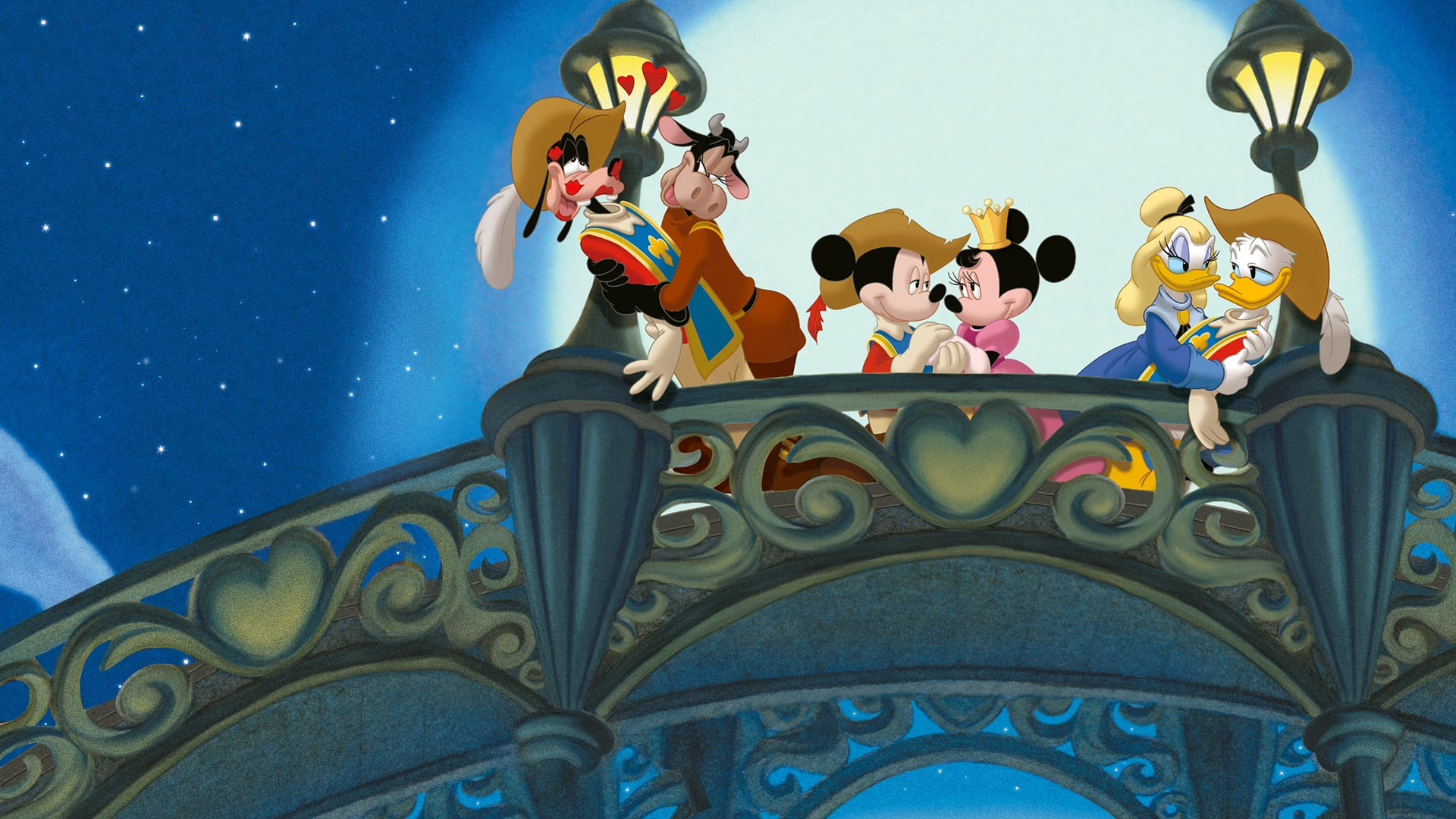 Mickey, Donald, Dingo: Les Trois Mousquetaires En encequiconcerne Mickey Mousquetaire