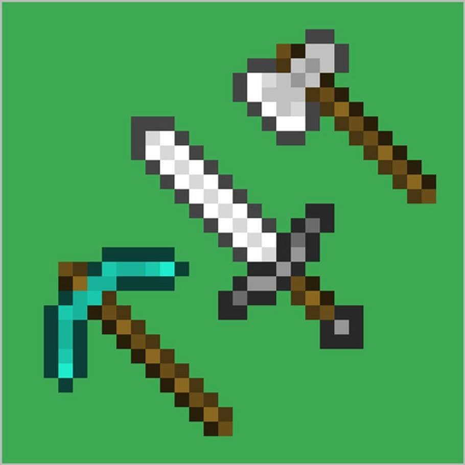 Minecraft En Pixel Art   Pixel Art, Pixel Art Papillon pour Pixel Art Requin
