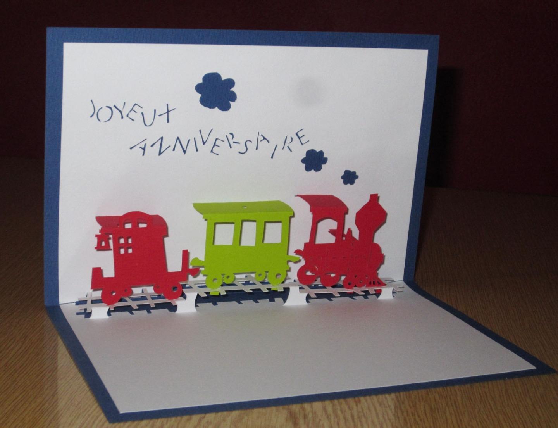 Modèle Carte Anniversaire Train serapportantà Invitation Anniversaire Train