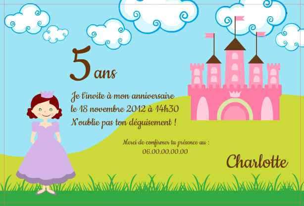 Modele Texte Carte Invitation Anniversaire Enfant dedans Modele Carte D Invitation Anniversaire Enfant