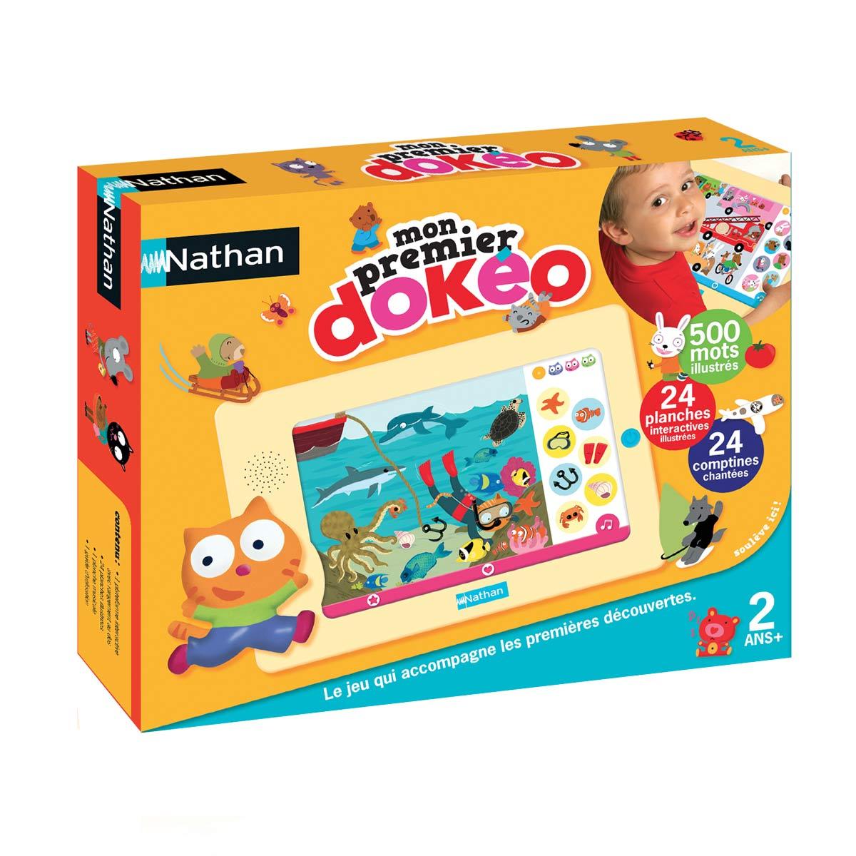 Mon Premier Imagier Baby Electro De Nathan Jeux intérieur Jeu Interactif Enfant