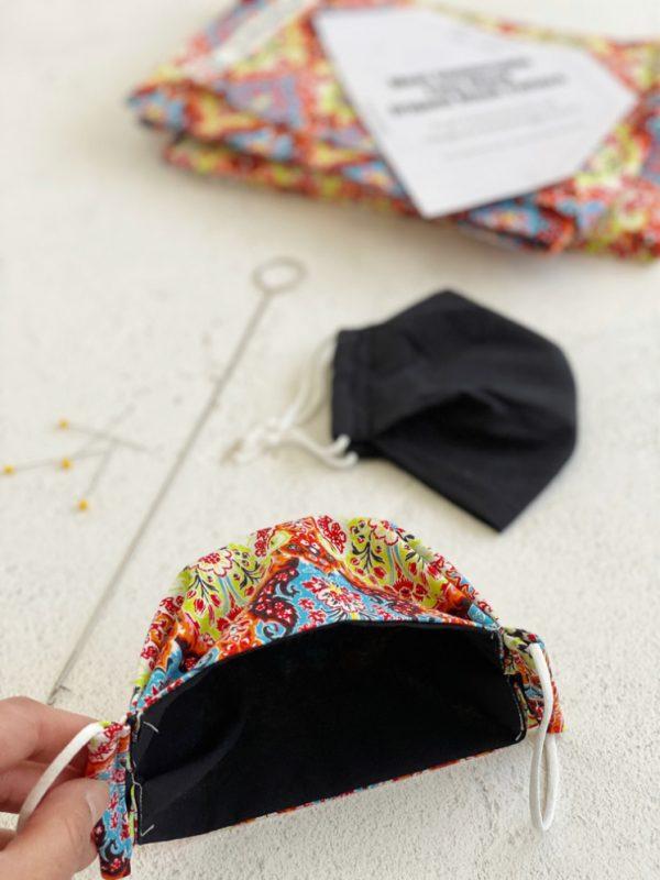 Most Comfortable Face Mask Origami Mask Pattern - Rae Gun destiné Masque Origami