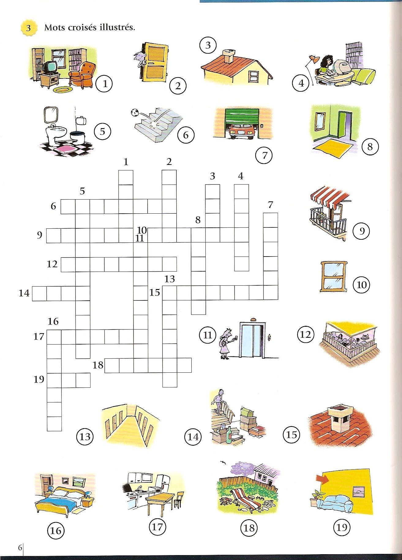 Mots Croisés Ce1 À Imprimer - Primanyc pour Jeux De Mots Enfants