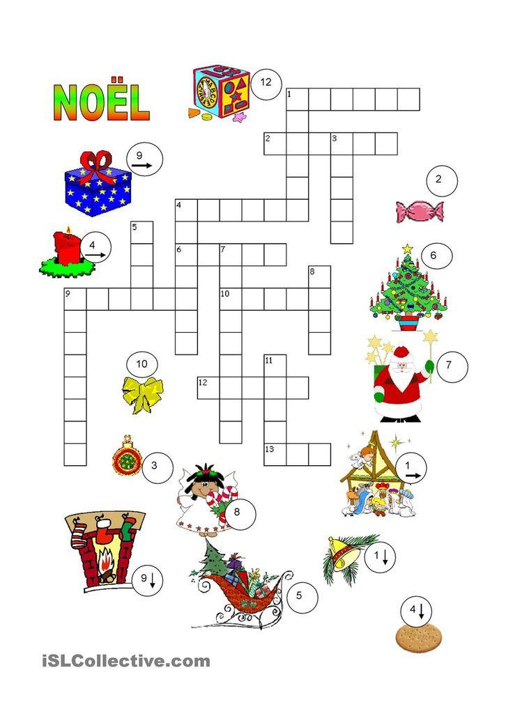 Mots Meles De Noel Cycle 3 - Les Meilleures Grilles De tout Mots Croisés Gratuits À Imprimer Cycle 3