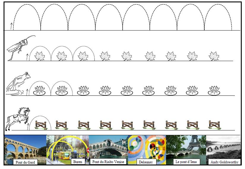 Ms : Graphisme Du Pont En 2020   Graphisme, Coloriage tout Graphisme Moyenne Section Les Ponts