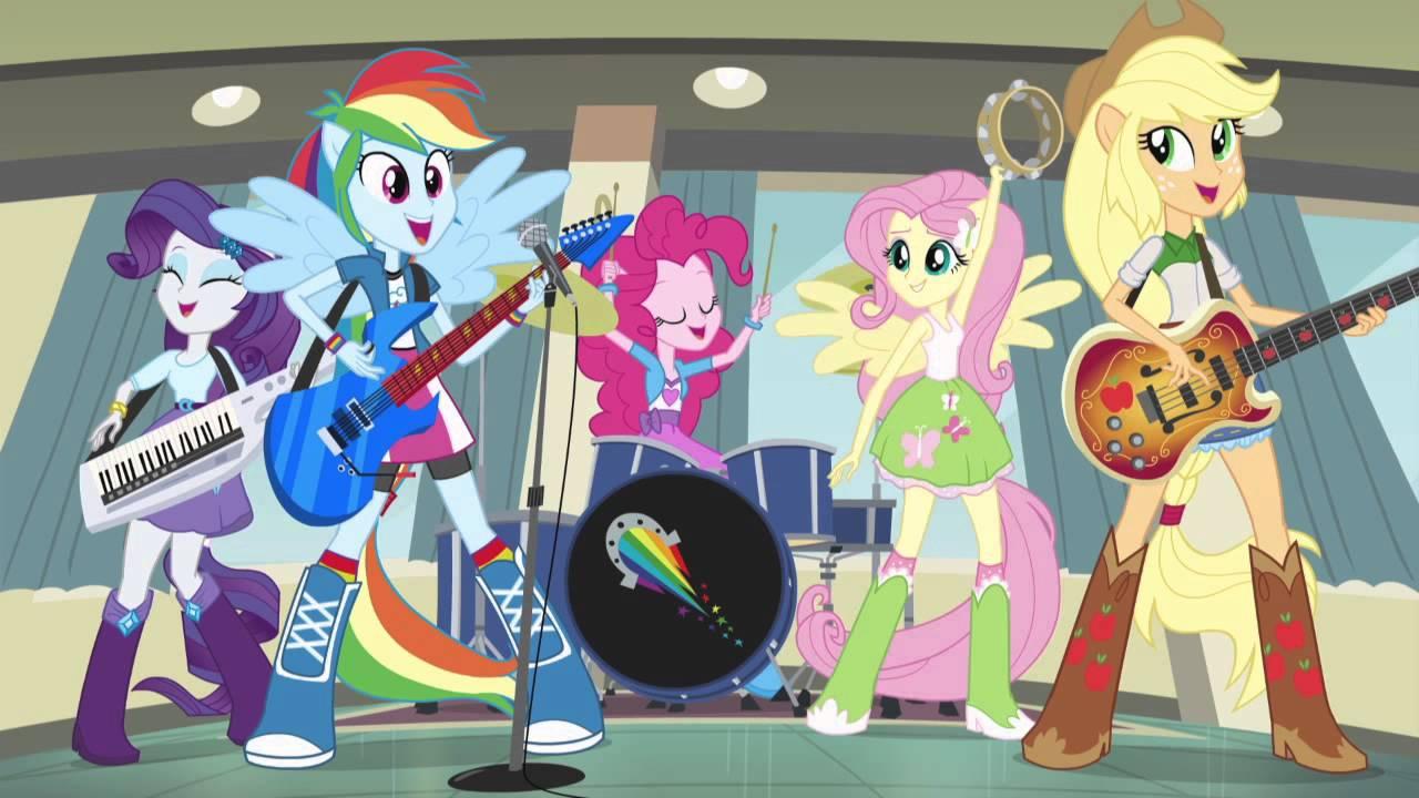 Musica De My Little Pony Equestria Girl Rainbow Rocks encequiconcerne My Little Pony Equestria Girls Show