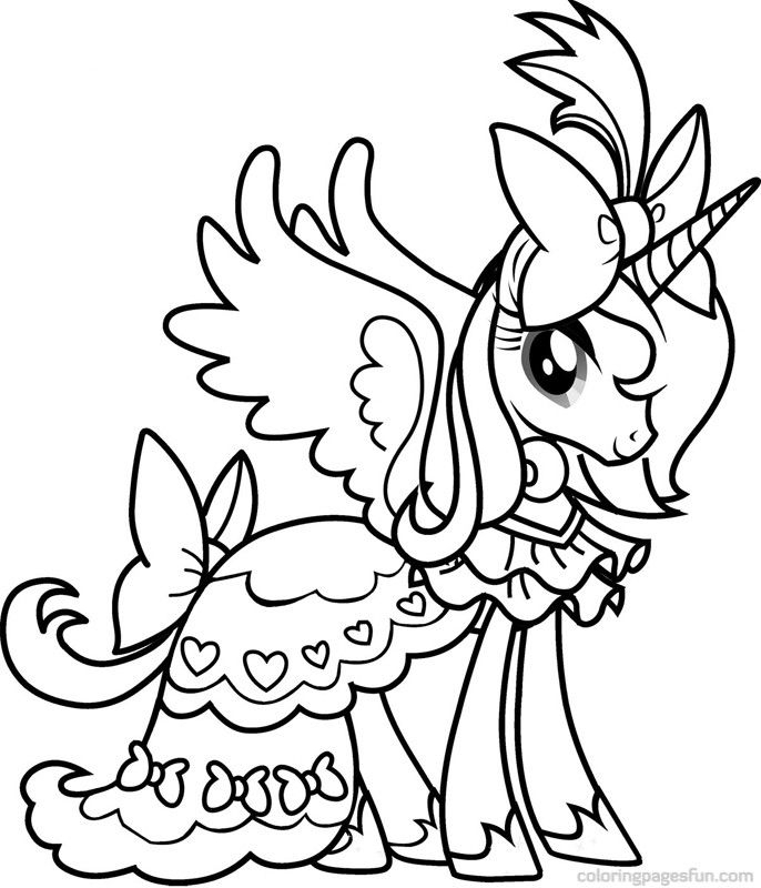 My Little Pony Coloring Pages | Coloringmates. | Coloriage intérieur Coloriage My Little Pony Cadence
