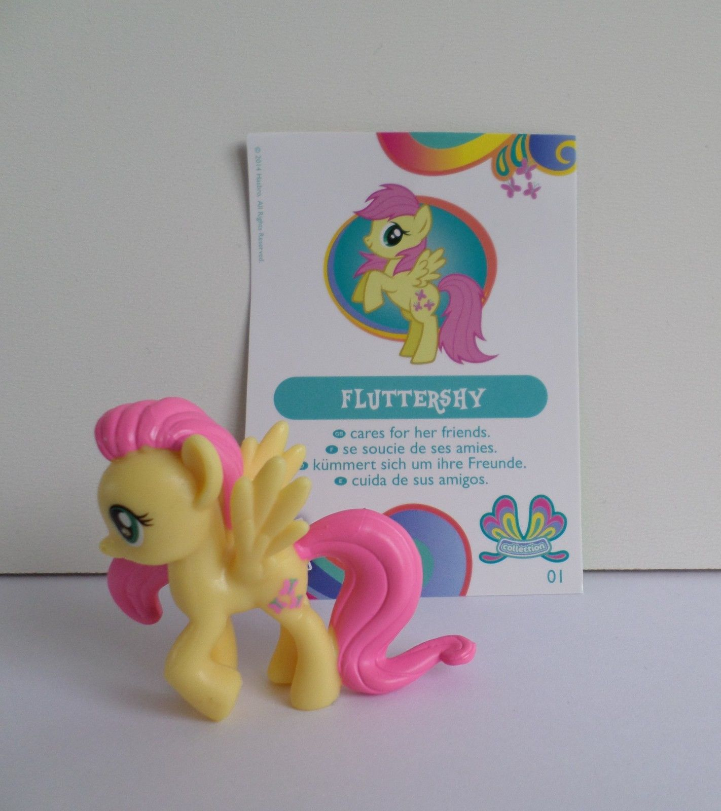 My Little Pony Petite Figurine Serie 11 Fluttershy Neuf pour Regarder My Little Pony En Français