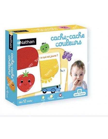 Nathan - Cache-Cache Couleurs - Achat - Nathan - Cache destiné Loto A Toucher Nathan