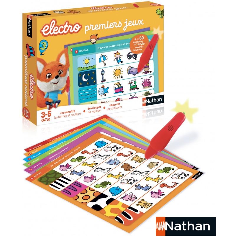 Nathan - Electro Premiers Jeux - Jeu Éducatif - 31523 tout Jeux Educatif Gs