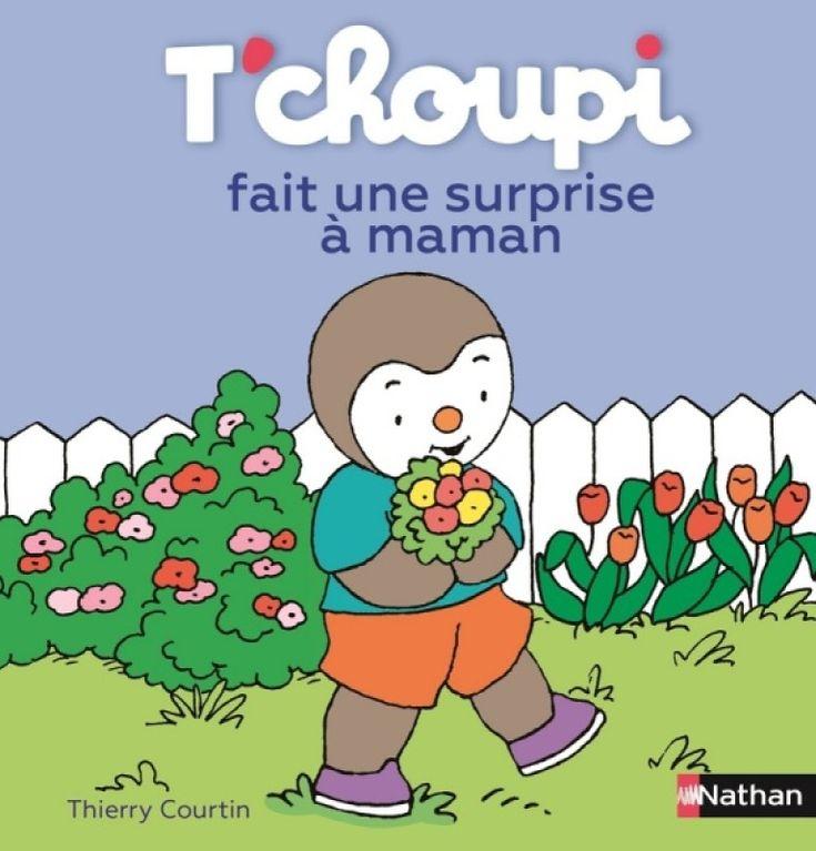 Nathan Livre - Tchoupi Fait Une Surprise À Maman   Livre intérieur Tchoupi Francais