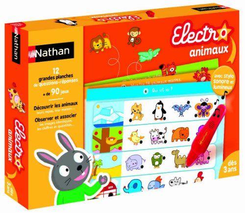 Nathan - Toy31032 - Jeu Electro De Qr - Jeu Educatif tout Question Reponse Jeu