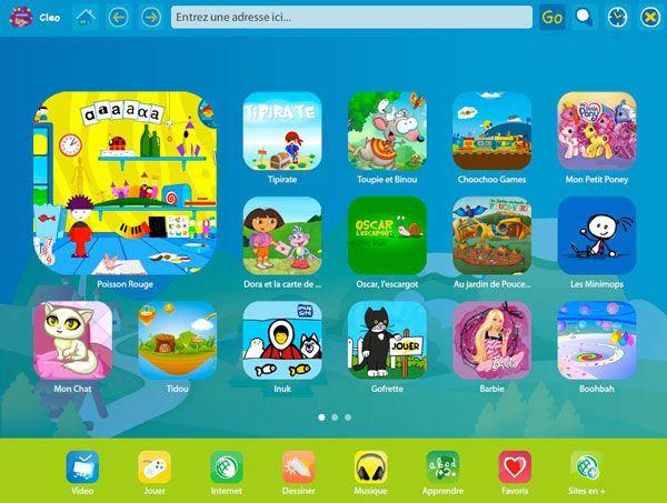 Navigateur Color Et S Curitaire Pour Ordi Et Tablette destiné Jeux Educatif 2 Ans En Ligne