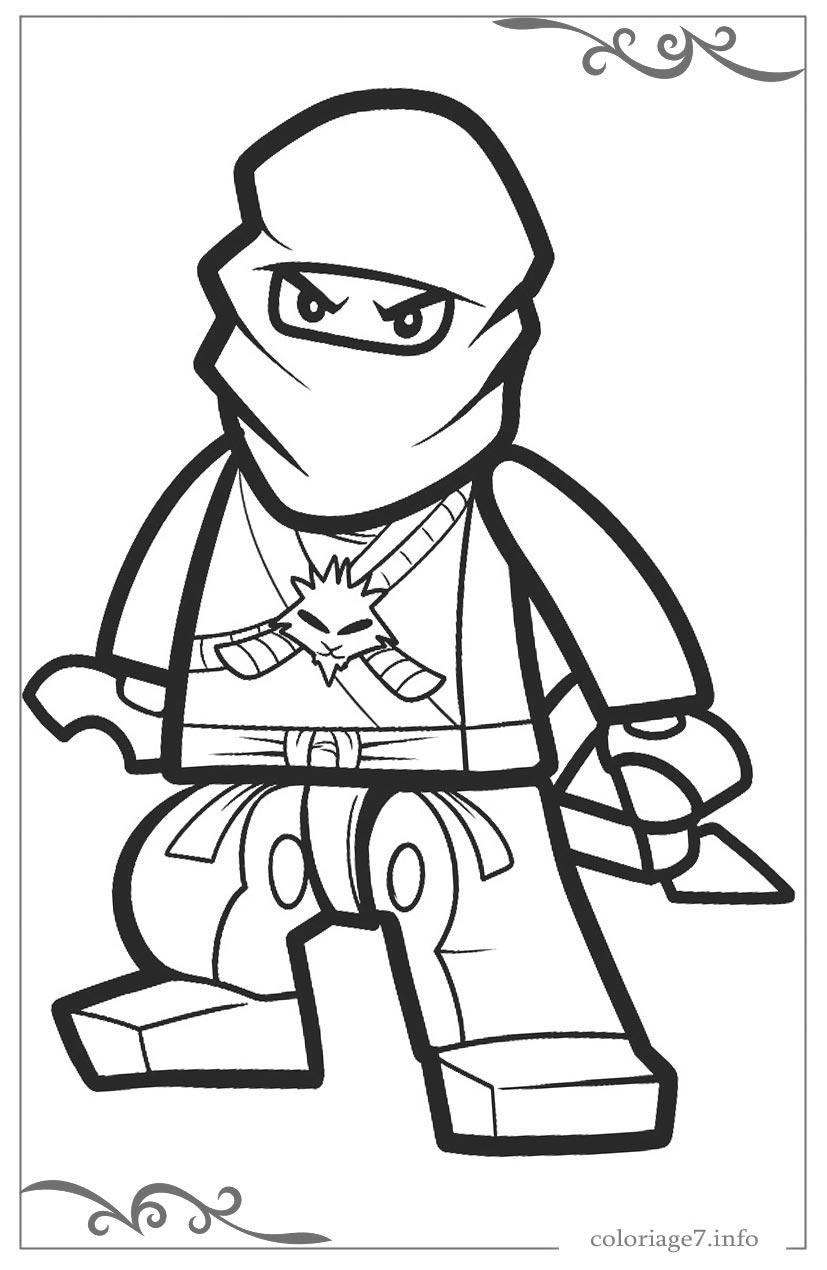 Ninjago Coloriage En Ligne - Bettah pour Ninjago A Colorier Et Imprimer