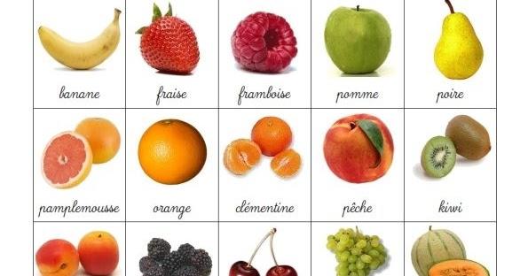 Nom Des Fruits concernant Les Noms Des Arbres Et Leurs Fruits